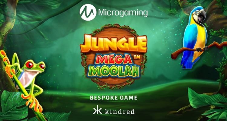 Microgaming launches Aurum Signature Studios' created slot Jungle Mega Moolah exclusively at Kindred Group
