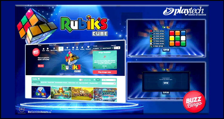 Playtech bringing new Rubik's Cube video slot to BuzzBingo.com