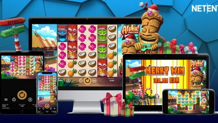 NetEnt revamps popular Aloha! Cluster Pays online slot for the holidays with Aloha! Christmas