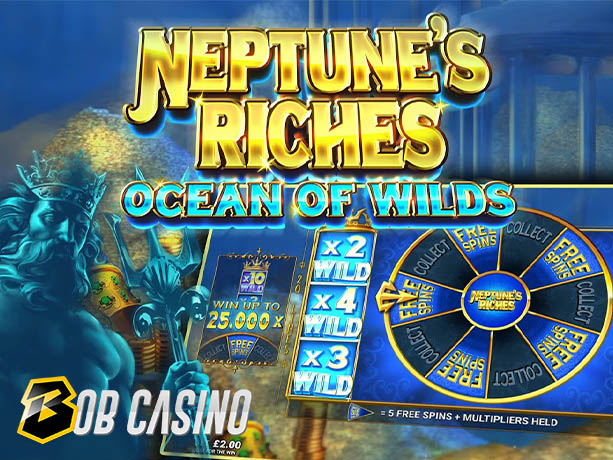 Neptune's Riches: Ocean of Wilds Slot Review (Quickfire)