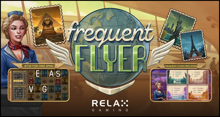 Relax Gaming Limited takes to the sky with new Frequent Flyer video slot