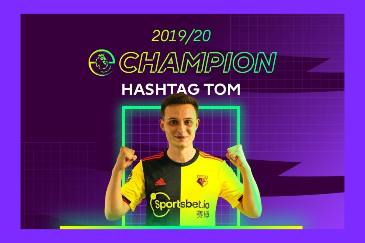 Hashtag Tom on being crowned 2019/20 ePL champion…
