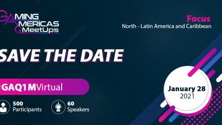 Save the date for the Gaming Americas Q1 Virtual Meetup (28 January 2021)