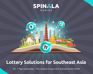 Spinola upgrades lottery solutions for Asia