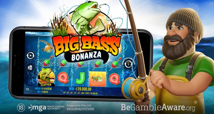 Pragmatic Play announces new Big Bass Bonanza online slot game in partnership with Reel Kingdom