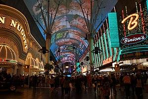Downtown Las Vegas sees increase in gaming wins