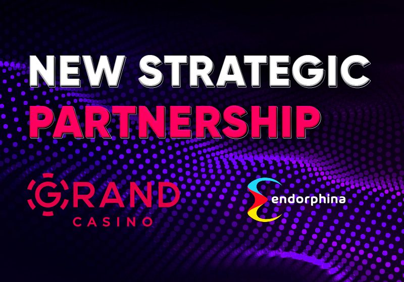 A great new partnership between Endorphina and GrandCasino