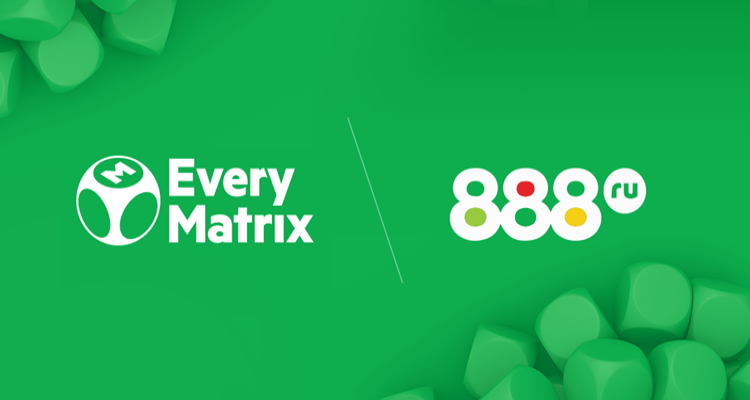 Russian bookmaker 888.ru to leverage EveryMatrix's newly revamped sportsbook for market launch