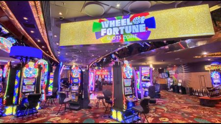 Plaza Hotel and Casino debuts new Wheel of Fortune Slots Zone