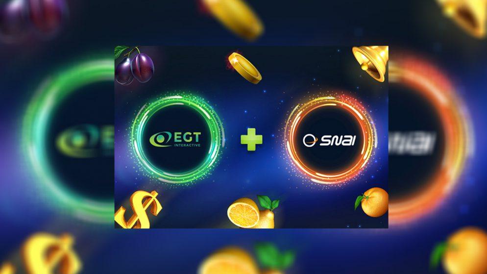 EGT Interactive Partners with Snaitech