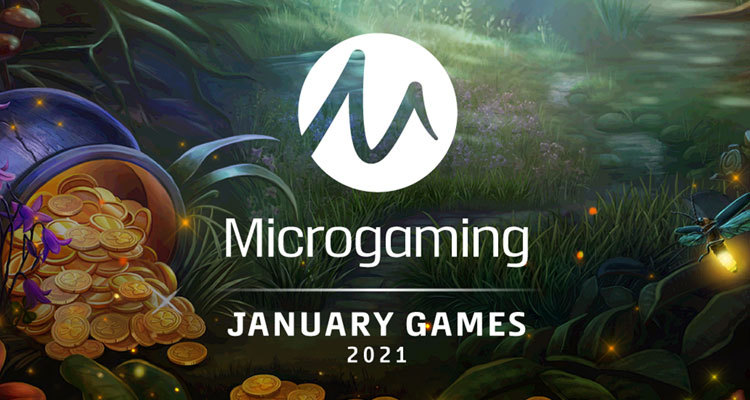 Microgaming reveals January line-up of exclusive releases