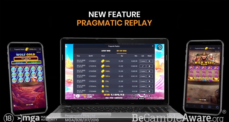 New Pragmatic Replay tool to boost player engagement