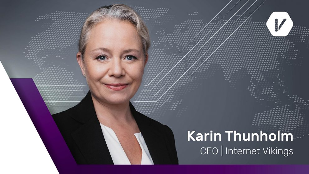 Karin Thunholm is appointed as a new CFO of Internet Vikings