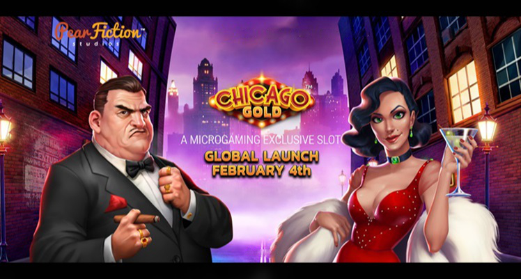 "Microgaming exclusive partnership with PearFiction Studios to kick of ""Chicago Gold"" launch Feb. 4"