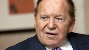 Adelson steps down for medical leave