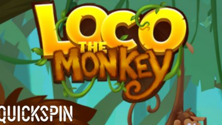 Quickspin releases new online slot game Loco the Monkey