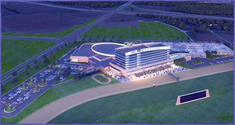 WarHorse Gaming shows off 3-D conception rendering of new casino project
