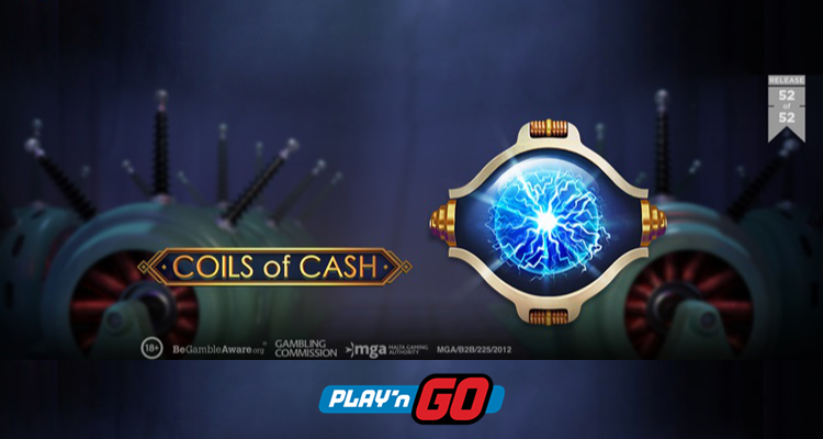 Play'n GO launches electrifying new video slot: Coils of Cash