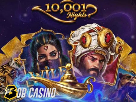 10001 Nights Slot Review (Red Tiger)
