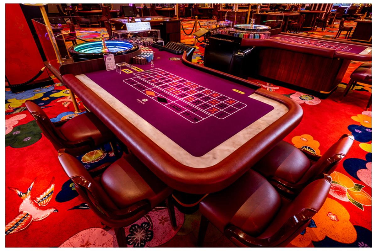 OKADA MANILA lights up the gaming floor with TCSJOHNHUXLEY products