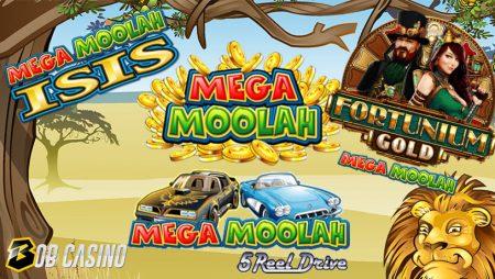Top 5 Mega Moolah Slots and Biggest Moolah Wins