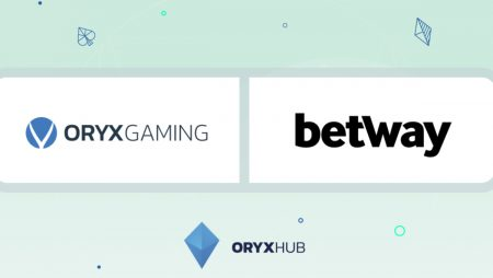 ORYX Gaming's content catalogue live with Betway