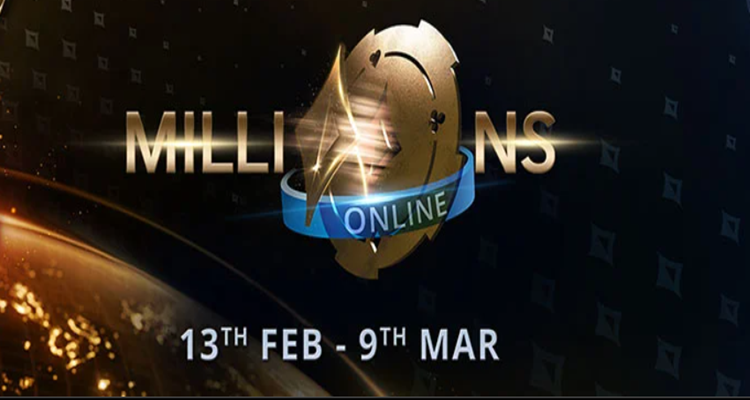 MILLIONS Online is back at partypoker this February