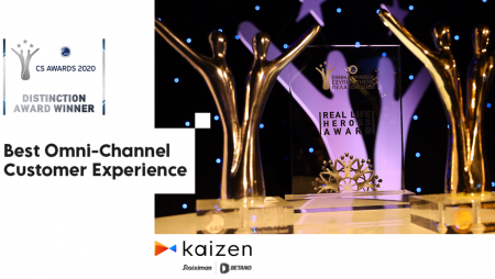 """Kaizen Gaming Wins Award in """"Best Omni-Channel Customer Experience"""" Category at National Customer Service Awards 2020"""