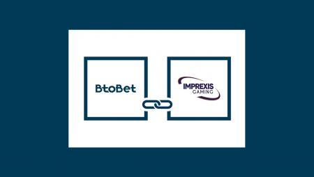 BtoBet Partners with Imprexis Gaming