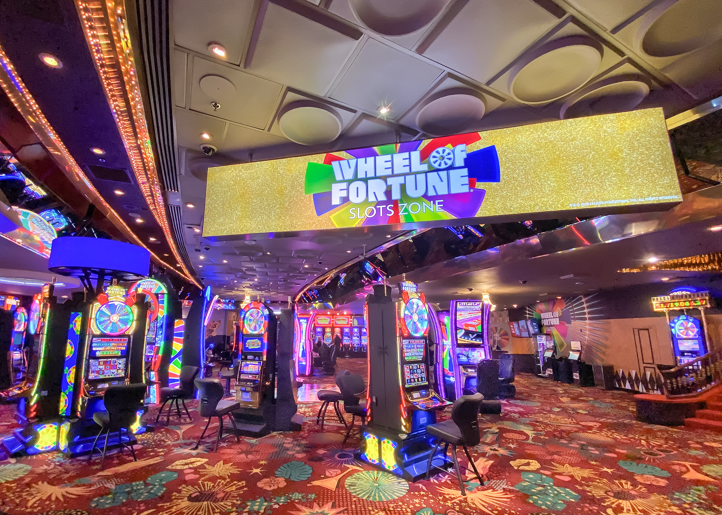 IGT and the Plaza Hotel & Casino Celebrate Life-Changing Jackpots with Las Vegas' Exclusive Wheel of Fortune® Slots Zone