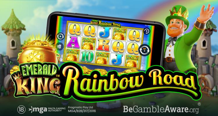 Pragmatic Play and Reel Kingdom partnership produces new video slot Emerald King Rainbow