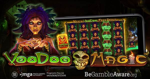 PRAGMATIC PLAY CONFRONTS DARK ARTS IN LATEST SLOT VOODOO MAGIC