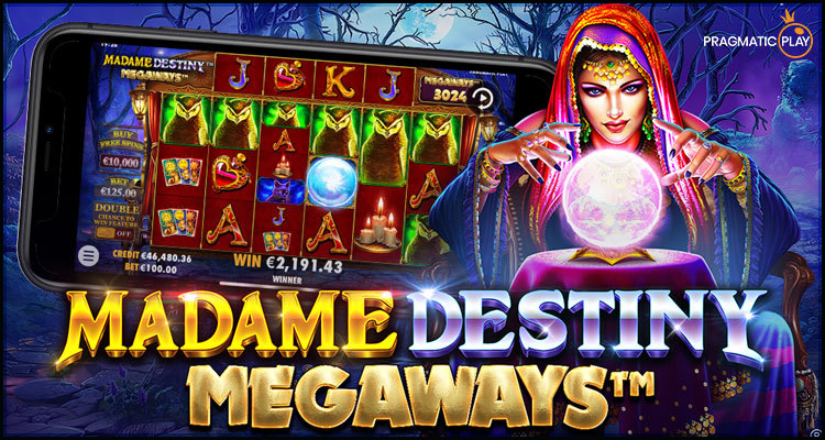 Pragmatic Play Limited launches new Madame Destiny Megaways video slot