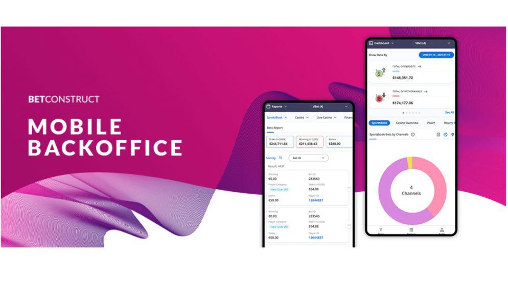 BetConstruct Optimises Back Office for Mobile Use