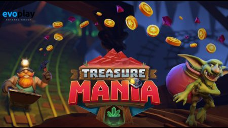 Evoplay Entertainment debuts new Treasure Mania video slot