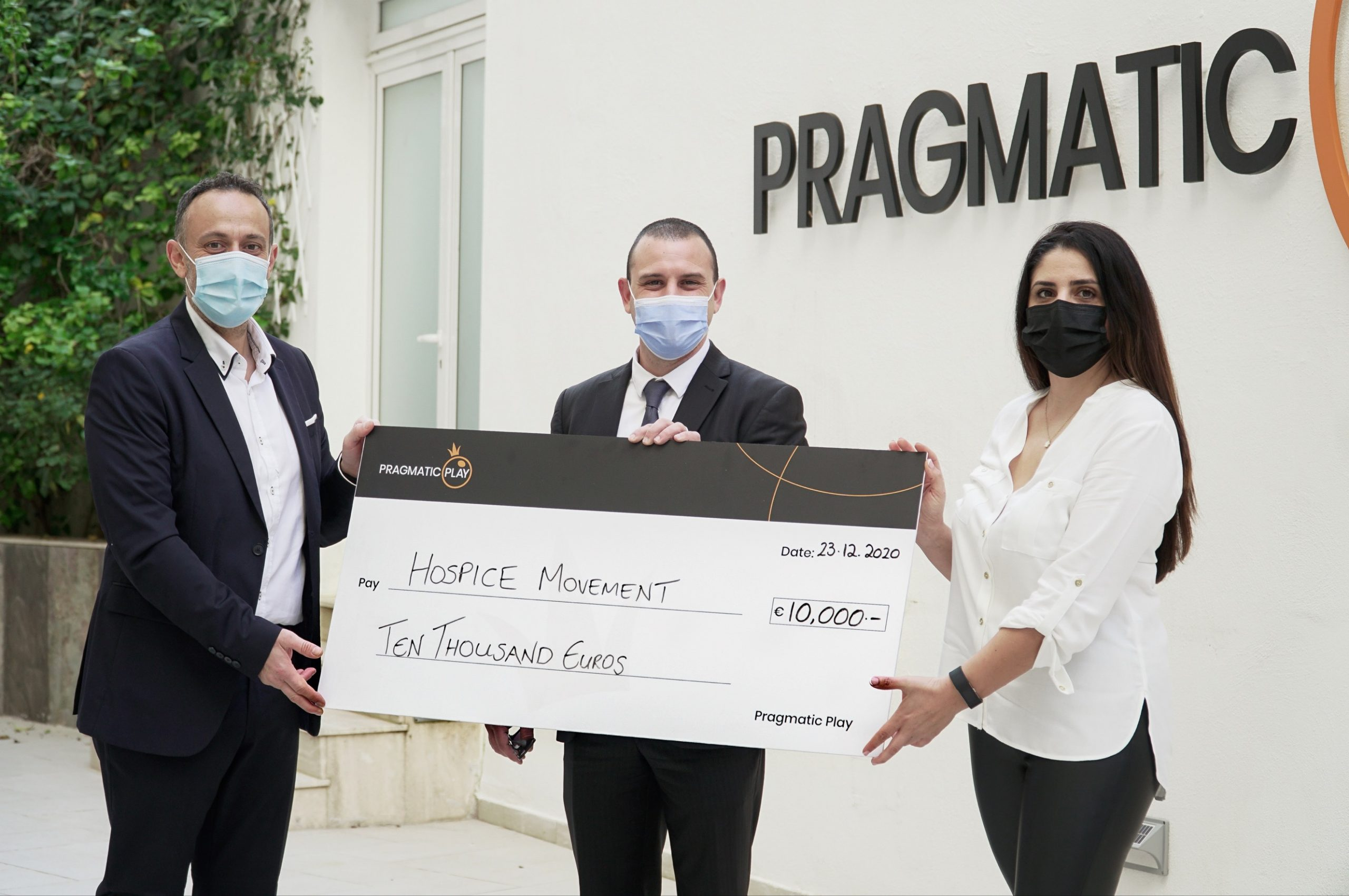 PRAGMATIC PLAY GIVES BACK DURING THE HOLIDAYS WITH A €30,000 DONATION