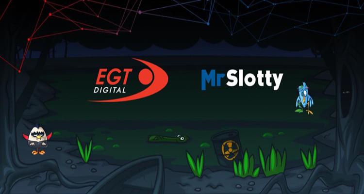 EGT Digital to integrate MrSlotty titles via new partnership