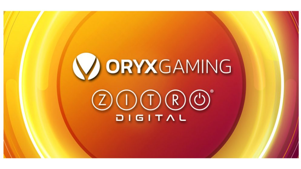 Zitro Digital and Oryx Gaming Form New Alliance