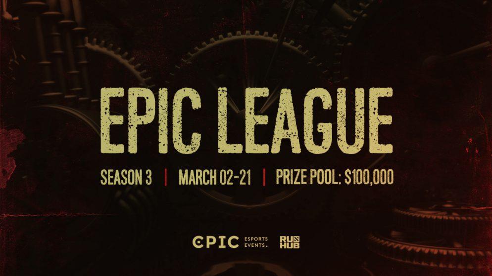 Epic Esports Events announces the new season of EPIC League