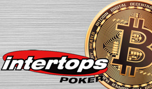Intertops Poker providing extra spins for online players who use Bitcoin to deposit this week
