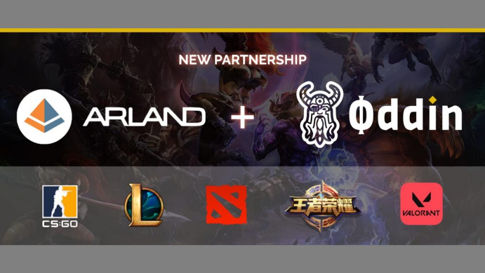 Arland boosts its esports offering by partnering with Oddin