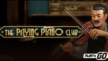 Play'n GO tickles the ivory with new The Paying Piano Club video slot