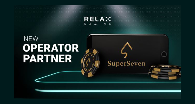 Relax Gaming agrees new content supply deal with soon to be launched online casino SuperSeven