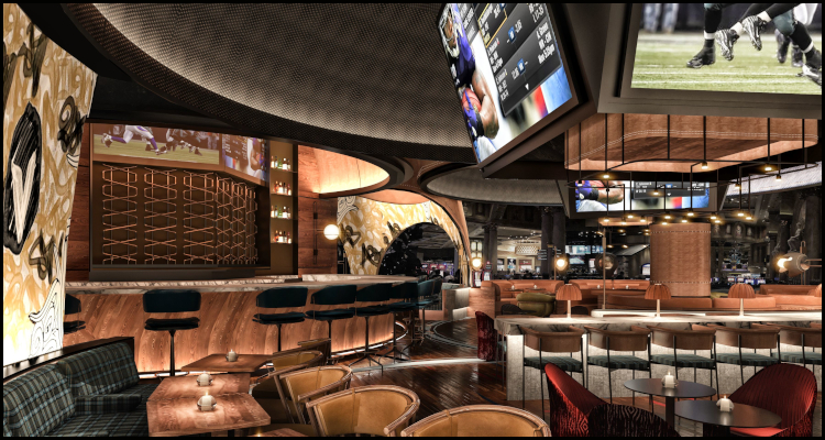 Caesars Palace Las Vegas to premiere new Stadia bar and lounge