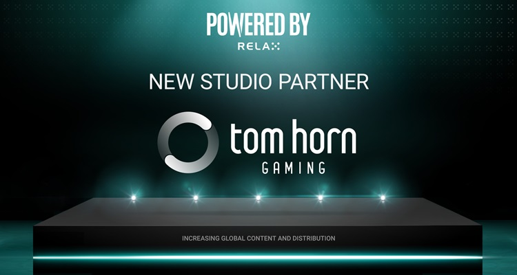Relax Gaming agrees strategic Powered By Relax partnership with Tom Horn Gaming