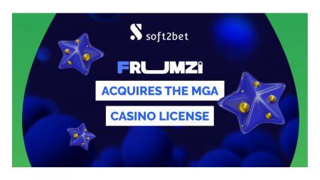 Soft2Bet's Frumzi gains MGA licence