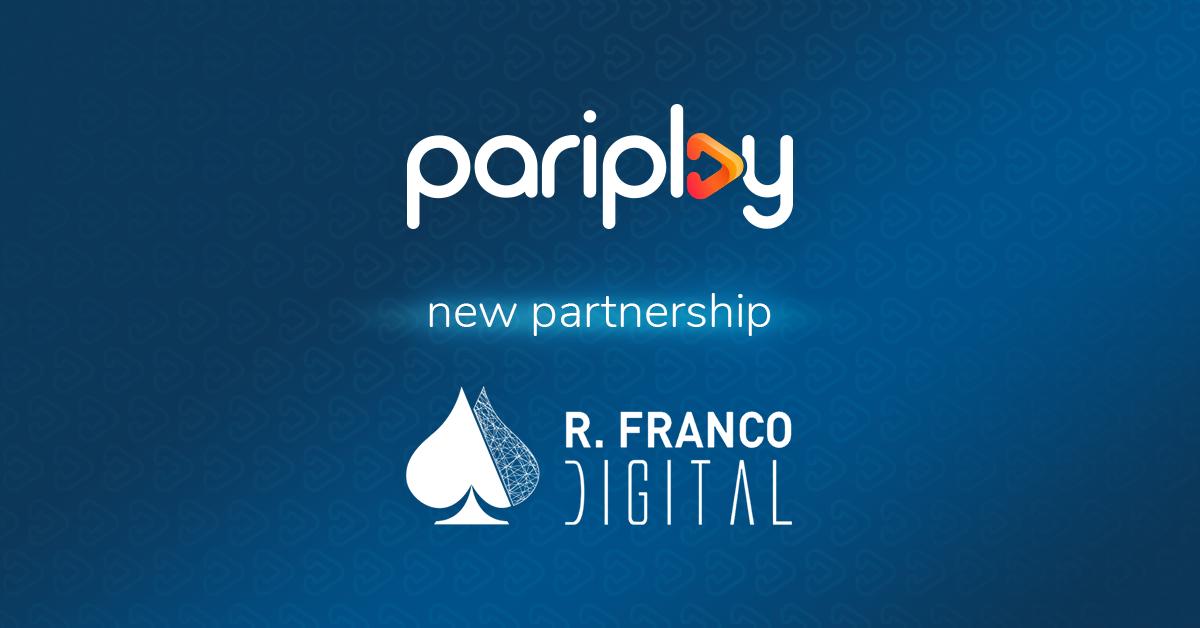 Pariplay Partners with R. Franco Digital