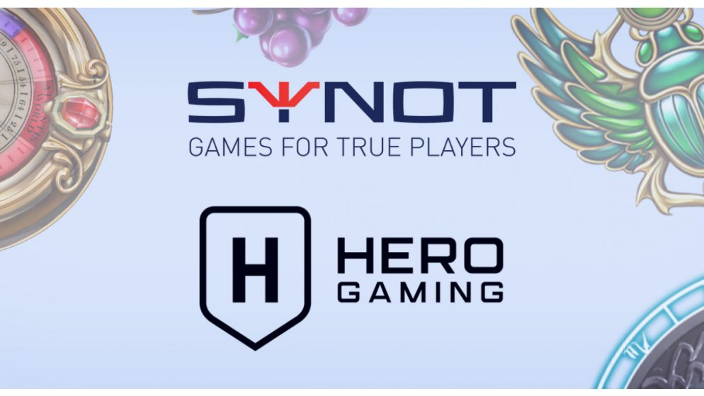 Synot Games Partners with Hero Gaming