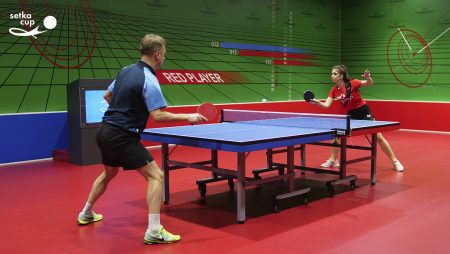 The Largest Table Tennis Platform in Ukraine SETKA CUP Opened New Location and Increased The Number of Games