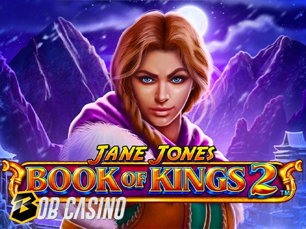 Jane Jones: Book of Kings 2 Slot Review (Playtech)